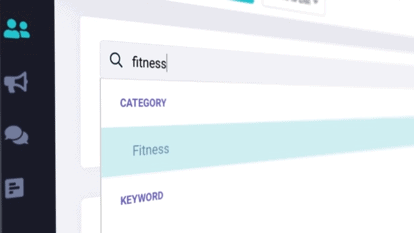 Find Your Influence platform search